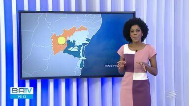 Confira a previsão do tempo para Salvador e cidades do interior do estado - Na quinta-feira (29), o litoral baiano fica mais nublado e chuvoso.