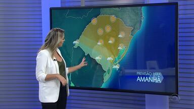 Quinta-feira (29) é de sol na maior parte do RS com possibilidade de chuva nas fronteiras - Assista ao vídeo.