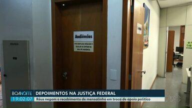 Depoimento da Operação Nipoti na Justiça Federal em Foz do Iguaçu - Réus negam o recebimento de mensalinho em troca de apoio político.