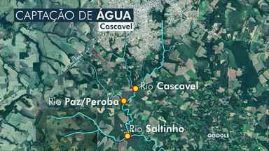 Sanepar volta a captar água do Rio Saltinho em Cascavel - Mas alerta para a necessidade do uso racional da água porque a estiagem prolongada baixou o nível dos reservatórios
