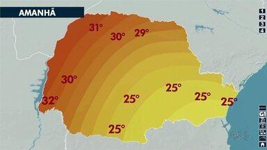 Veja a previsão do tempo para os próximos dias - Até domingo não tem previsão de chuva.
