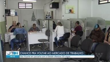 São Vicente oferece cursos para quem está desempregado - Em parceria com o Estado, ao todo, foram disponibilizadas 25 vagas de qualificação.