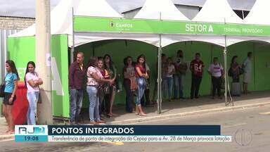 Transferência de Ponto de Integração do Cepop para a Av. 28 de Março provoca lotação - Prefeitura de Campos anunciou mudança na terça (27).