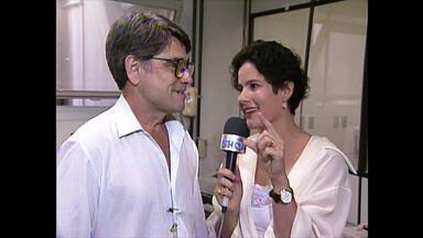 'Vídeo Show' visita os bastidores do 'Jornal Nacional' e traz fatos curiosos - Relembre a visita de 1994!