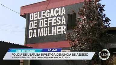 Polícia investiga denúncia contra um professor de educação física - Caso ocorreu em Caraguatatuba.