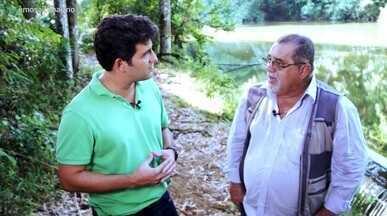 Engenheiro ambiental mostra o único rio não poluído de Salvador - Engenheiro ambiental mostra o único rio não poluído de Salvador