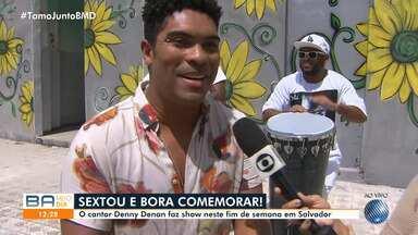 Denny Denan realiza show no domingo, em Santo Antônio Além do Carmo - Evento começa às 15h e acontece na área de eventos da Igreja Santo Antônio Além do Carmo.