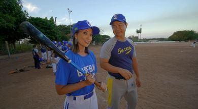'No Meu Pique': Cris Ikeda foi conhecer o beisebol - O 'No Meu Pique' leva Cris Ikeda para conhecer um esporte pouco conhecido no Brasil, que tem forte base nas colônias japonesas: o beisebol