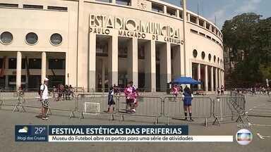 Festival Estéticas das Periferias - Museu do futebol abre as portas para atividades em família