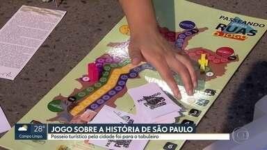Grupo de historiadores cria jogo para falar sobre a cidade - Passeios guiados gratuitos são feitos aos domingos.