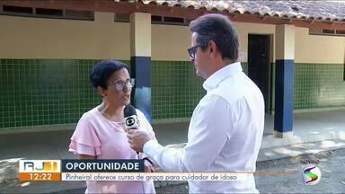 Iniciam segunda-feira as inscrições para curso gratuito de cuidador de idosos em Pinheiral - Ao todo serão oferecidas 75 vagas. Interessados devem ter no mínimo 18 anos.