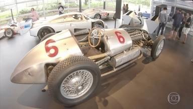 Veja os carros do concurso de Pebble Beach - Veja os carros do concurso de Pebble Beach.