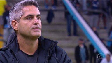 Três perguntas para Rodrigo Santana, técnico do Atlético MG - Três perguntas para Rodrigo Santana, técnico do Atlético MG