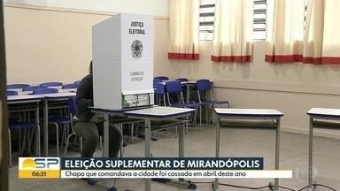 Eleições suplementares - Eleitores foram às urnas neste domingo em Mirandópolis e Paulínia, no interior
