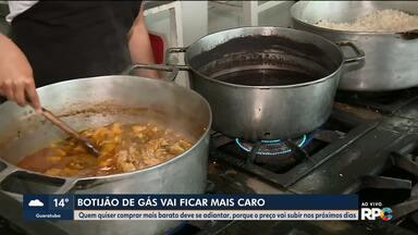 Botijão de gás vai ficar mais caro em todo o Brasil - De acordo com as distribuidoras, alta deve chegar aos consumidores nos próximos dias.