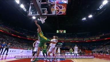 Após vitória na estreia, Brasil enfrenta a Grécia de Antetokounmpo na Copa do Mundo de basquete - Após vitória na estreia, Brasil enfrenta a Grécia de Antetokounmpo na Copa do Mundo de basquete