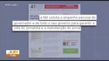Polícia define esquema de segurança do jornalista que denunciou o 'Dia do Fogo' no Pará - Polícia define esquema de segurança do jornalista que denunciou o 'Dia do Fogo' no Pará
