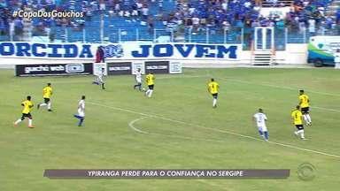 Confira o desempenhos dos gaúchos nas quartas de final da Série C - Ypiranga perde, São José empata e Juventude joga nesta segunda.