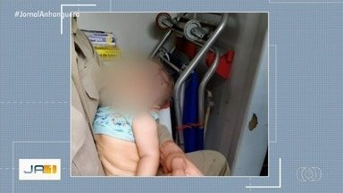 Criança agredida e abandonada está em abrigo de Goiânia - Mãe da criança, que é menor de idade, está apreendida.