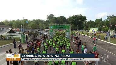 8º BEC completa 49 anos de implantação em Santarém com Corrida da Selva - Evento aconteceu na manhã de domingo (1º).