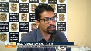 Polícia Civil investiga dois casos de homicídio ocorridos no domingo, em Santarém - Casos aconteceram no Residencial Salvação e outro no bairro Prainha.
