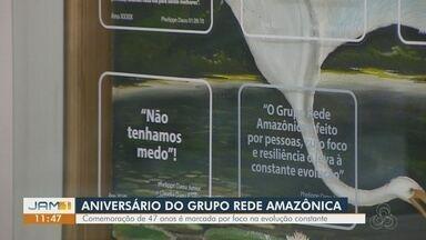 Grupo Rede Amazônica celebra 47 anos de fundação na região Norte - Empresa foca na constante evolução.