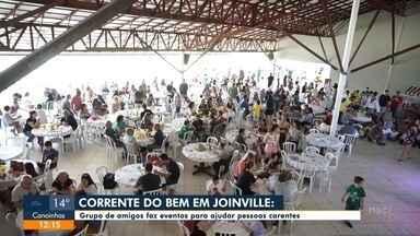 Grupo de amigos faz eventos para ajudar pessoas carentes em Joinville - Grupo de amigos faz eventos para ajudar pessoas carentes em Joinville
