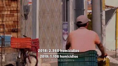 Ceará tem redução no número de morte violentas - Confira mais notícias em g1.globo.com/ce