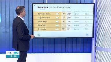 Previsão do tempo: semana começa com instabilidade no Sul do Rio - Terça-feira vai ter possibilidade de chuva na região.