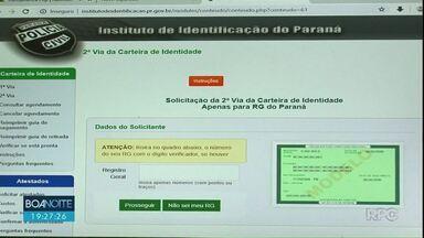 Polícia Civil investiga golpe para agendamento de RG em Guarapuava e Irati - Golpista criam sites falsos que cobram, mas não realizam o agendamento.