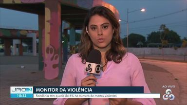 Rondônia registra queda de 6% nas mortes violências segundo o Monitor do G1 - Novos dados foram divulgados pelo monitor da violência