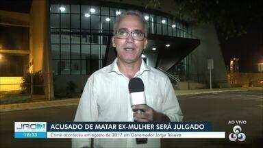 Vai a júri popular homem acusado de matar ex-mulher enforcada em Governador Jorge Teixeira - Caso aconteceu em agosto de 2017 no Vale do Jamari