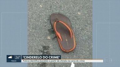 Polícia identifica bandido a partir de chinelo que deixou na rua após tiroteio em Niterói - O traficante Rafael Teixeira Guimarães, o Funil, foi reconhecido pela polícia depois de participar de um tiroteio na Alameda São Boaventura, em Niterói. Agora está sendo chamado de 'Cinderelo do Crime'