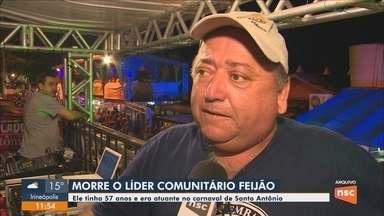 Morre em Florianópolis, Edenaldo Lisboa da Cunha, o Feijão de Santo Antônio de Lisboa - Morre em Florianópolis, Edenaldo Lisboa da Cunha, o Feijão de Santo Antônio de Lisboa