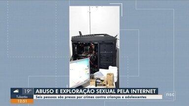 Operação Luz da Infância 5 realiza prisões em Santa Catarina - Operação Luz da Infância 5 realiza prisões em Santa Catarina