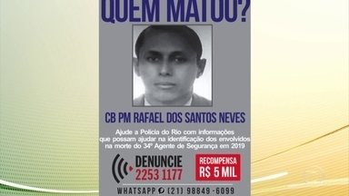 A polícia do Rio busca os suspeitos de matar um cabo da PM no complexo do Alemão - O militar fazia patrulhamento e foi atingido por criminosos, segundo a polícia.