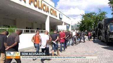 Justiça absolve todos os acusados de festa da milícia em Santa Cruz - O MP não conseguiu provar a ligação deles com a milícia em Santa Cruz e Paciência.