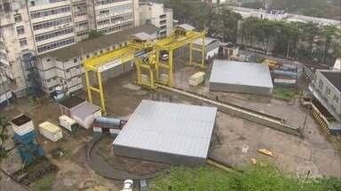 Governo do RJ confirma que vai aterrar a estação do metrô no bairro da Gávea - Já foi gasto quase R$ 1 bilhão nas obras. A construção está envolvida em denúncias de corrupção e superfaturamento.