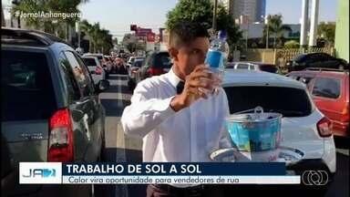 Goiânia tem a semana mais quente do ano - Apesar do Inverno, temperaturas estão longe do clima da estação.