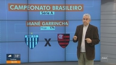 Avaí pega o Flamengo em Brasília; Figueira empata e pode fechar rodada no Z-4 da Série B - Avaí pega o Flamengo em Brasília; Figueira empata e pode fechar rodada no Z-4 da Série B