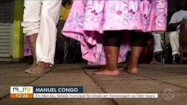Mendes celebra pela primeira vez dia da consciência negra, em homenagem a Monoel Congo - Celebração aconteceu na sexta-feira (6) para lembrar e reconhecer o líder da rebelião dos escravos da região.