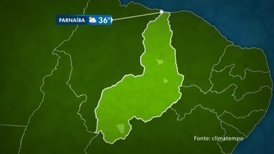 Confira a previsão do tempo para toda o território do Piauí - Confira a previsão do tempo para toda o território do Piauí