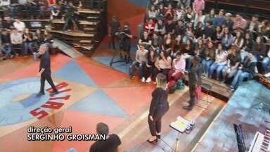 Programa de 07/09/2019 - As mulheres no palco do 'Altas Horas': Agatha Moreira, Andréia Sadi, Marília Mendonça, Pitty e Vanessa Jackson