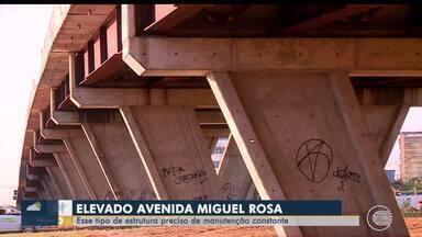 Motoristas colocam em dúvida a segurança do Elevado da Av. Miguel Rosa em Teresina - Motoristas colocam em dúvida a segurança do Elevado da Av. Miguel Rosa em Teresina