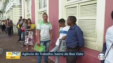 Confira as vagas de emprego em Pernambuco nesta segunda (9) - Interessados podem procurar Agência do Trabalho dos municípios que estão ofertando as oportunidades.