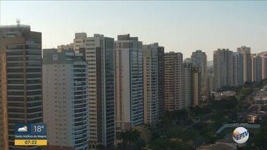 Confira a previsão do tempo para esta segunda-feira (9) em Ribeirão Preto - Temperatura chega a 35°C.