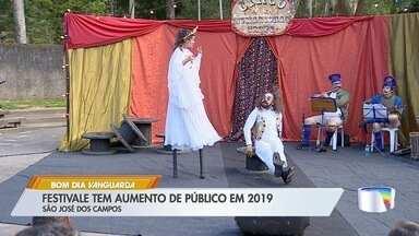 Festivale terminou neste fim de semana em São José - Festival teve aumento de público neste ano.