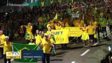 Desfile de sete de setembro reuniu palmenses na capital tocantinense - Desfile de sete de setembro reuniu palmenses na capital tocantinense