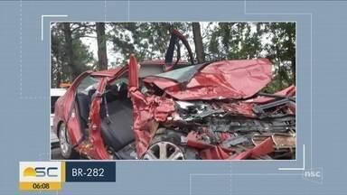 Giro de notícias: Santa Catarina registra acidentes graves no final de semana - Giro de notícias: Santa Catarina registra acidentes graves no final de semana