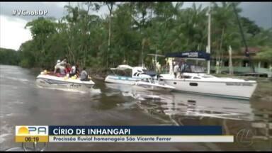 Círio de Inhangapi homenageia São Vicente Ferrer - Círio de Inhangapi.